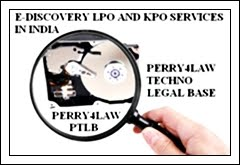 E-Discovery And Litigation Services LPO And KPO In India